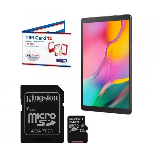 Tablet + SDCard 64Gb + SIM
